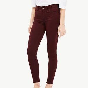 Ann Taylor Performance Stretch Skinny Jeans